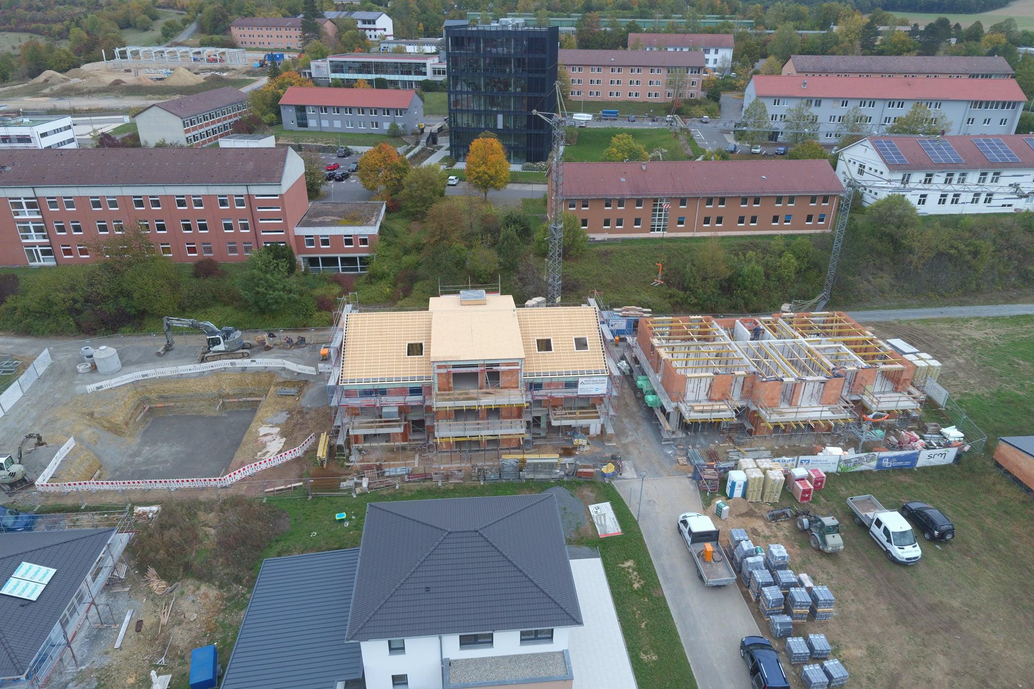 SRM - Bau von Mehrfamilienhäusern